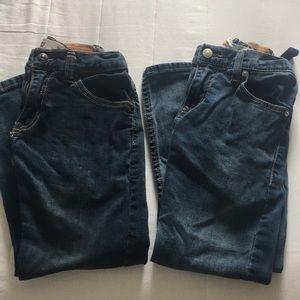 4 pair Levi's jeans size 8 reg (2 511, 2 505)